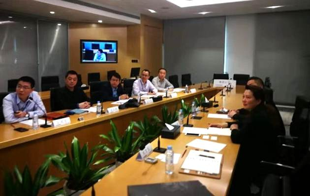 NTVU Delegation Visited China General Nuclear Power Corporation