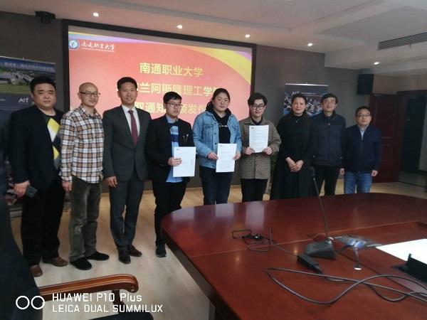 Three NTVU Students Received by Overseas Prestigious University