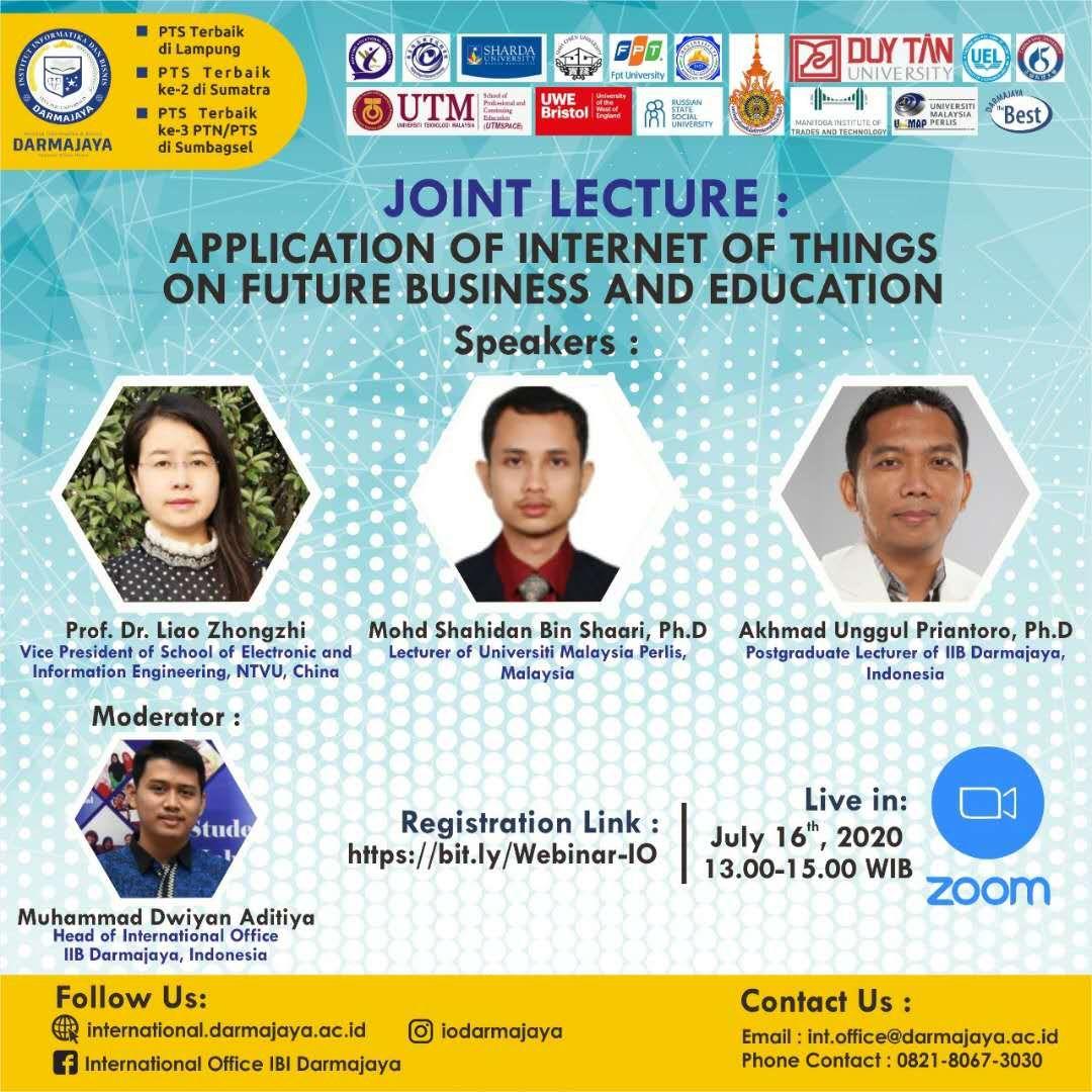 NTVU & IIB Darmajaya Organized the Online International Academic Conference