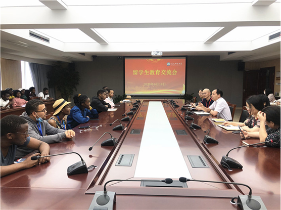 Teachers and students study Xi Jinpin's letter to foreign students